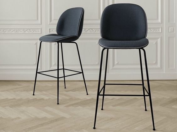 Sola barstol med stålunderstell Kontor & Interiør